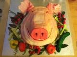 Novelty Pig Cake